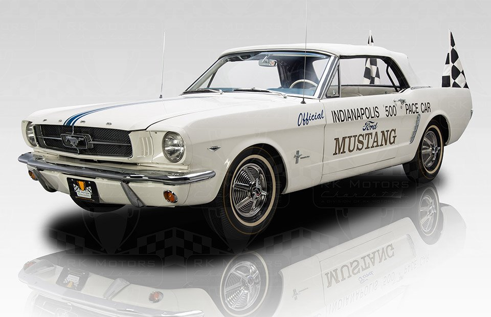 1964-1/2 Ford Mustang Indy Pace Car up for Sale