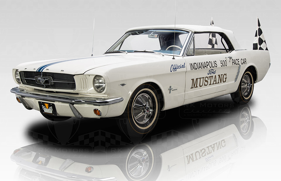 1964 1 2 Ford Mustang Indy Pace Car Up For Sale 95 Octane