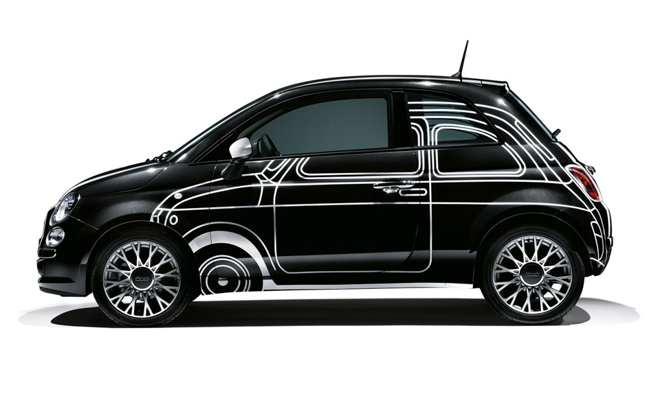 2015 FIAT 500 Ron Arad Edition + More