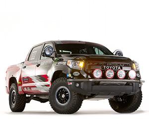Toyota's 2015 Tundra Baja Truck & Chase Vehicles