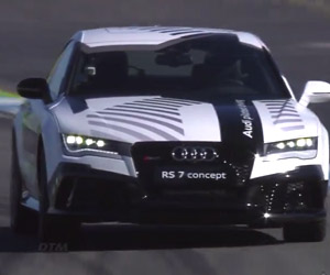 Audi RS7 Autonomous Car Finishes Hockenheim Run
