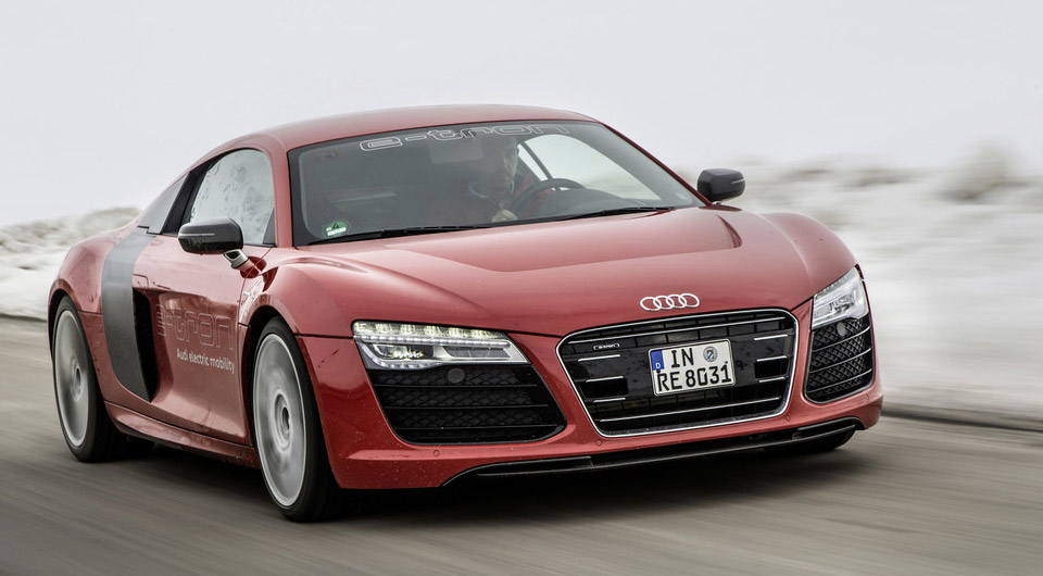 "Audi R8 Plug-in Hybrid ""Possible"""