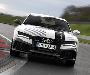 Take a Ride in Audi's RS7 Piloted Driving Car