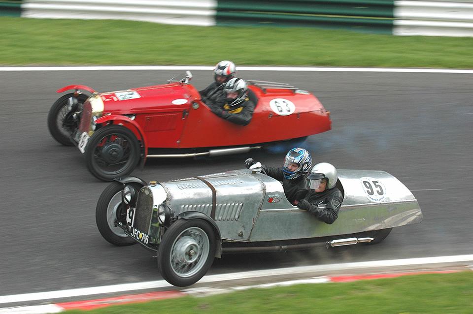 Awesome Car Pic: Morgan 3-Wheeler Battle