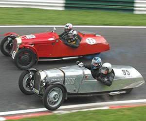 Awesome Car Pic: Morgan 3-Wheeler Battle
