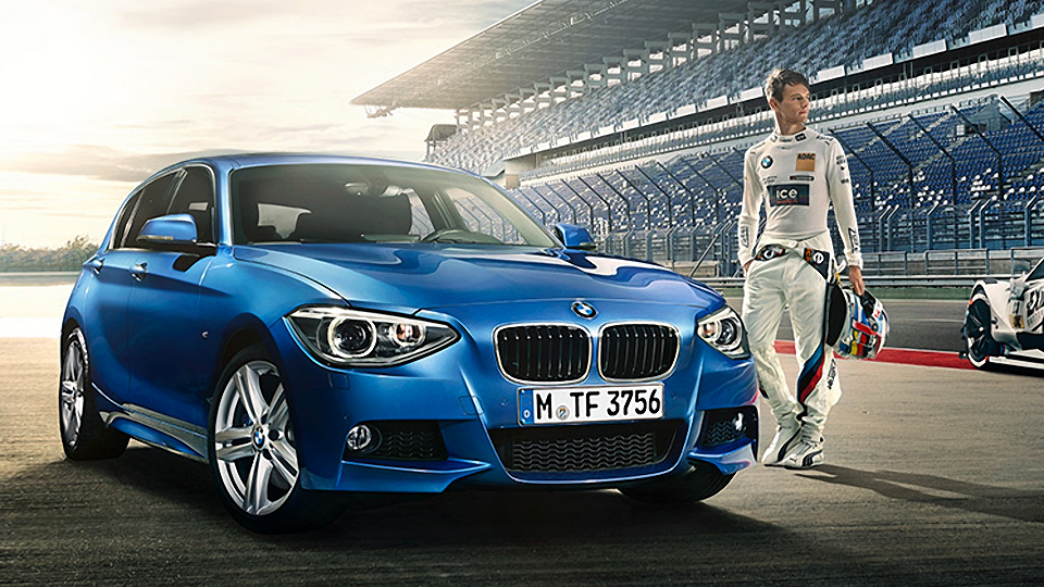 BMW Celebrates DTM Win with Special 1 Series