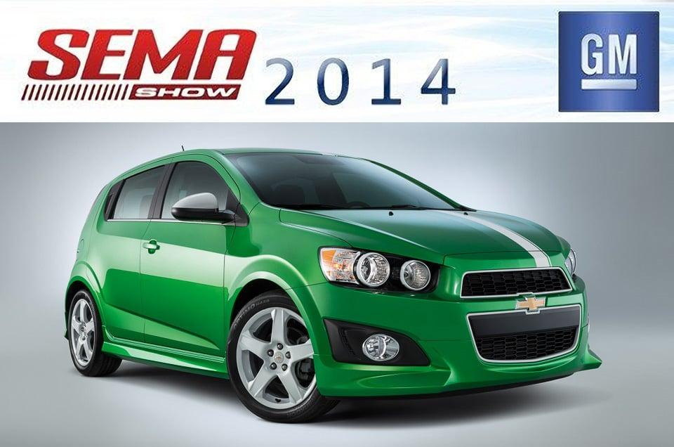 Chevy Previews Five Performance SEMA Cars