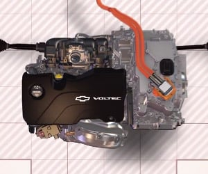 Chevy Improves Drivetrain for 2016 Volt #nextgenvolt