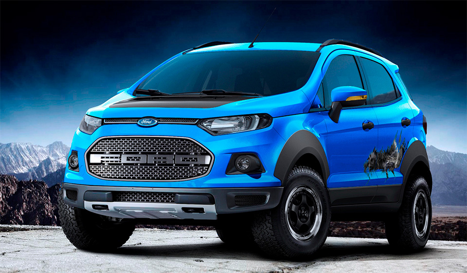 Ford EcoSport Gets Decked out for Sao Paulo