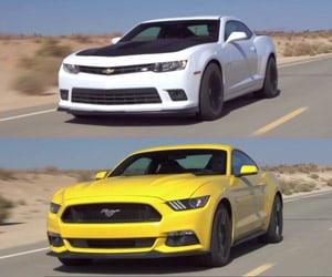 2015 Ford Mustang GT vs. 2015 Chevy Camaro SS