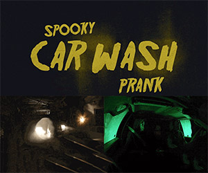 Ford Scares the Bejesus out of Car Wash Customers