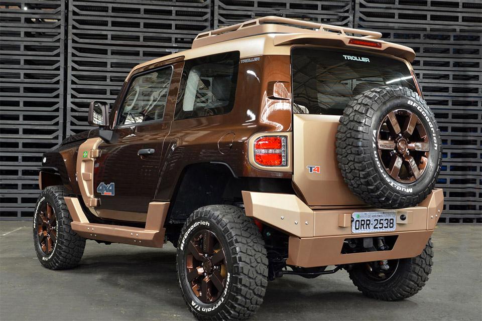 Ford Updates Troller T4 Concept - 95 Octane