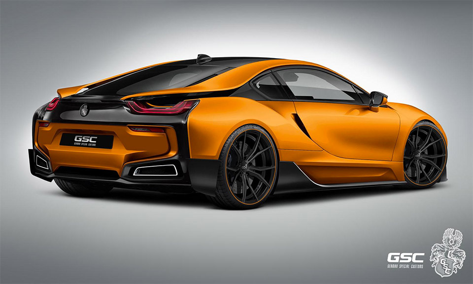 German Special Customs Teases Bmw I8 Itron 95 Octane