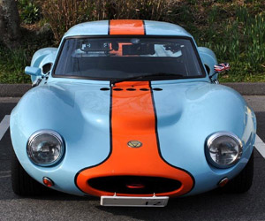 Awesome Car Pic: Ginetta G4 Gulf