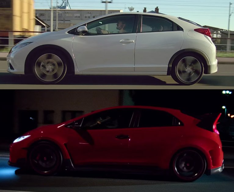 Honda Civic Type R: The Other Side