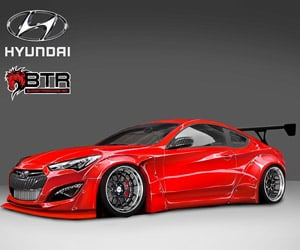 Hyundai x Blood Type Racing Genesis Coupe