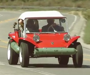 Jay Leno Takes the First Meyers Manx for a Spin