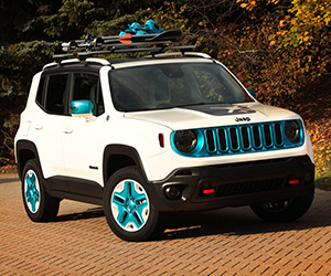 Jeep Shows Frostbite and Riptide Renegade Concepts