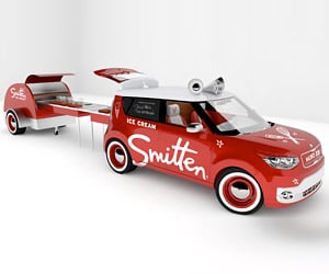 Kia Soul EV Ice Cream Truck Heads to SEMA