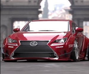 Lexus RC 350 Gets Worked over for SEMA