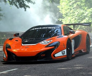 The Chase: A McLaren 650S GT3 on the Prowl