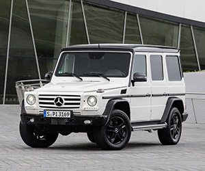 Mercedes-Benz Introduces G-Class Edition 35