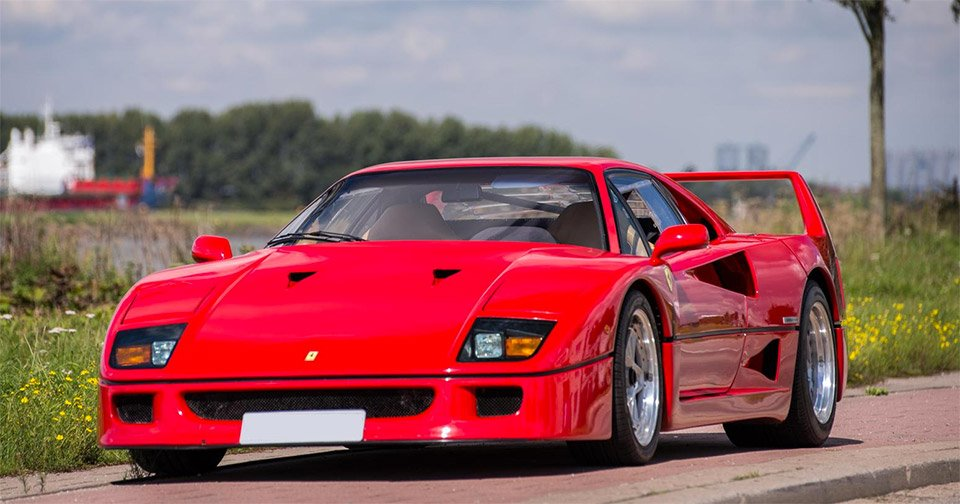 Nigel Mansell's Ferrari F40 Fetches Nearly $900k
