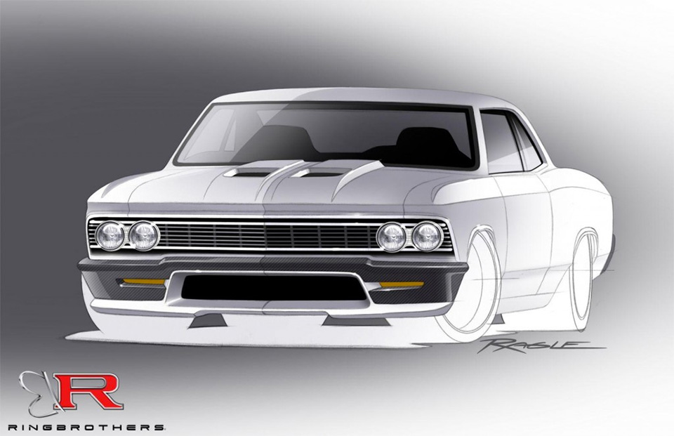Ringbrothers Bringing 980hp Chevelle to SEMA