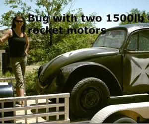 The Rocket-Powered VW Bug