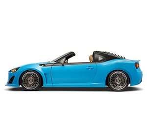 Scion FR-S Goes Topless for SEMA Reveal