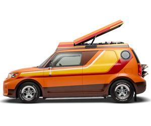 """'70s Style Scion xB """"Shaggin' Wagon"""""""