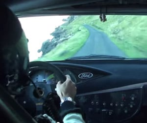 Insane Rally Racing in Scotland