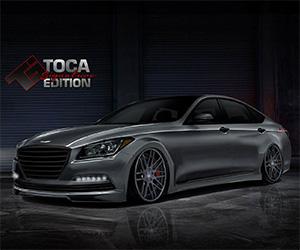 Toca Bringing 600hp Hyundai Genesis to SEMA