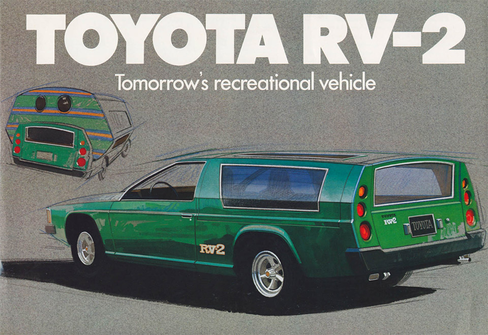 Concepts from Future Past: Toyota RV-2