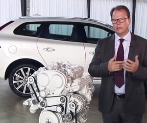 Volvo Makes 2-Liter, 4-Cyl. Engine with 450+HP