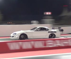 World's Fastest Toyota Supra Bests Itself