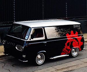 Awesome 1964 Ford Econoline Van Restoration