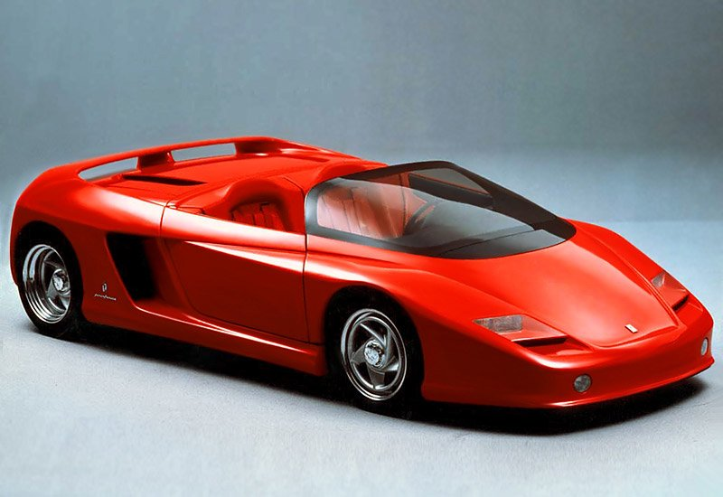 Concepts from Future Past: 1989 Ferrari Mythos