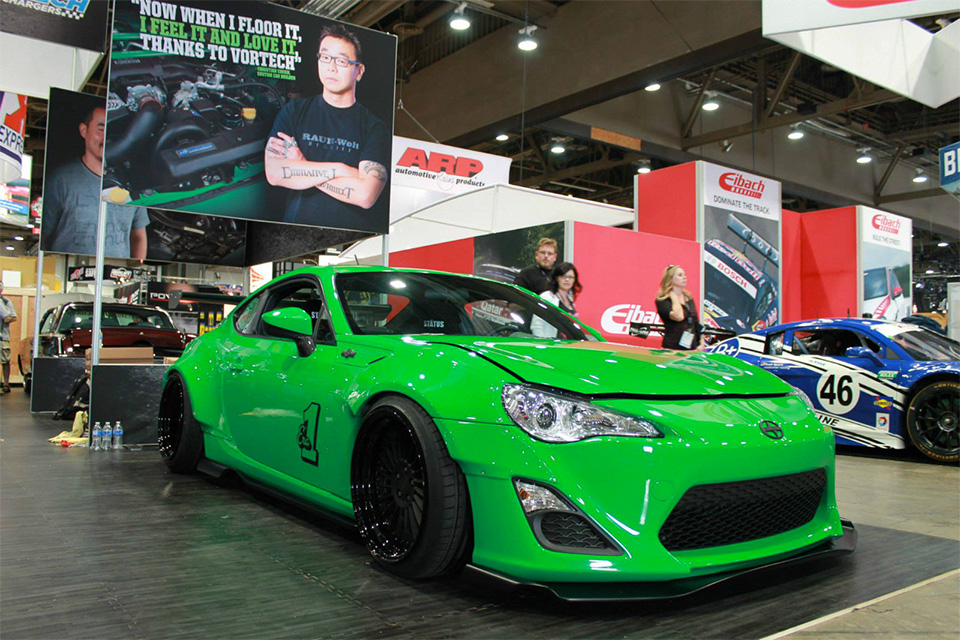 2013 Scion FR-S Rocket Bunny SEMA Car Hits eBay