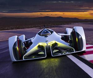 Chevrolet Unveils Chaparral 2X Vision Gran Turismo