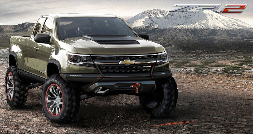 2015 chevrolet colorado zr2 concept 95 octane. Black Bedroom Furniture Sets. Home Design Ideas