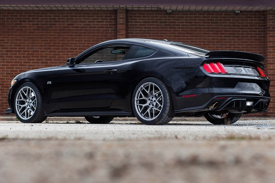 The Mustang RTR can be made in any of the three available engine specs