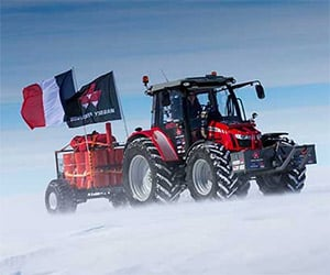 Driving a Tractor to the South Pole