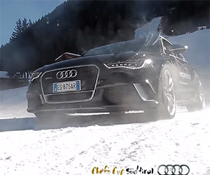 Audi RS6 Avants Tear up the Italian Alps