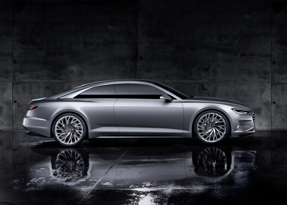 Audi Launches New Era with Prologue Concept - 95 Octane