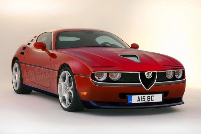 Modern-Day Alfa Romeo Montreal Rendered