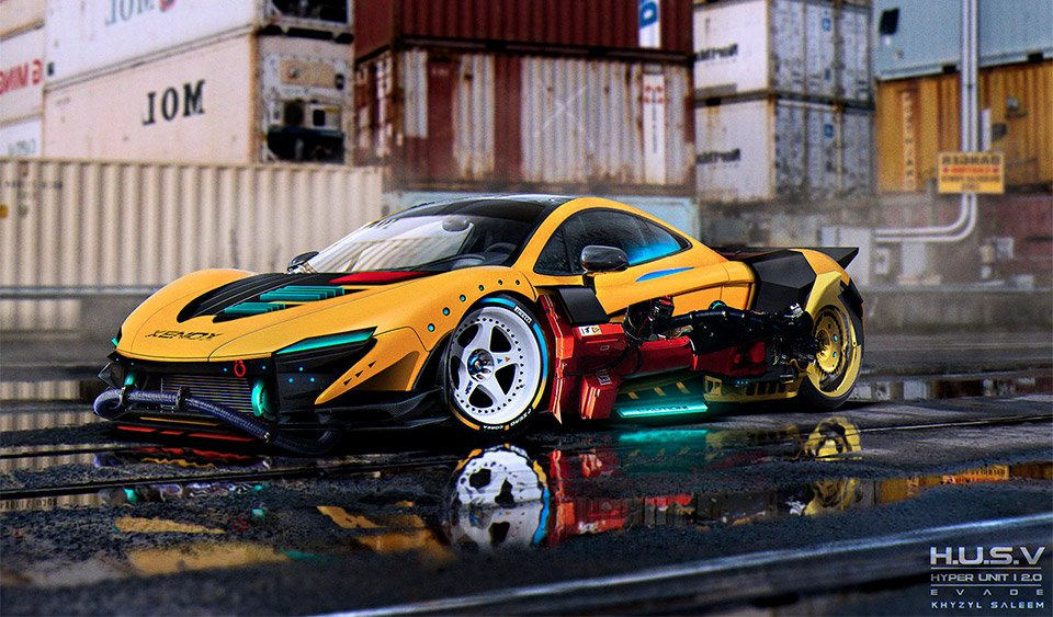 Here Are But A Few Of His Eye Popping Car Designs Be Sure To Stop By Em S Gallery Over On Artstation For Many More