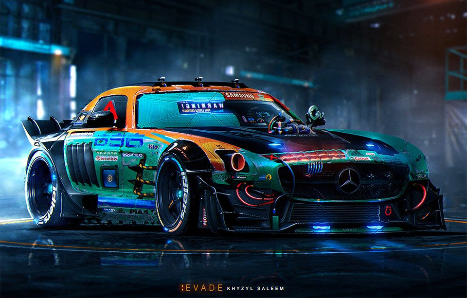 Awesome Car Designs By Khyzyl Em