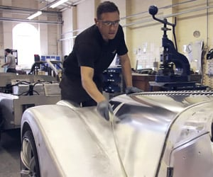 Inside the Morgan Factory