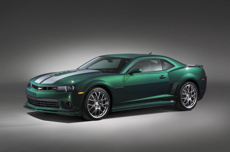 Chevrolet Camaro Green Flash Edition